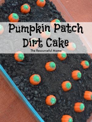 Pumpkin Patch Dirt Cake #halloweenpotluckideas