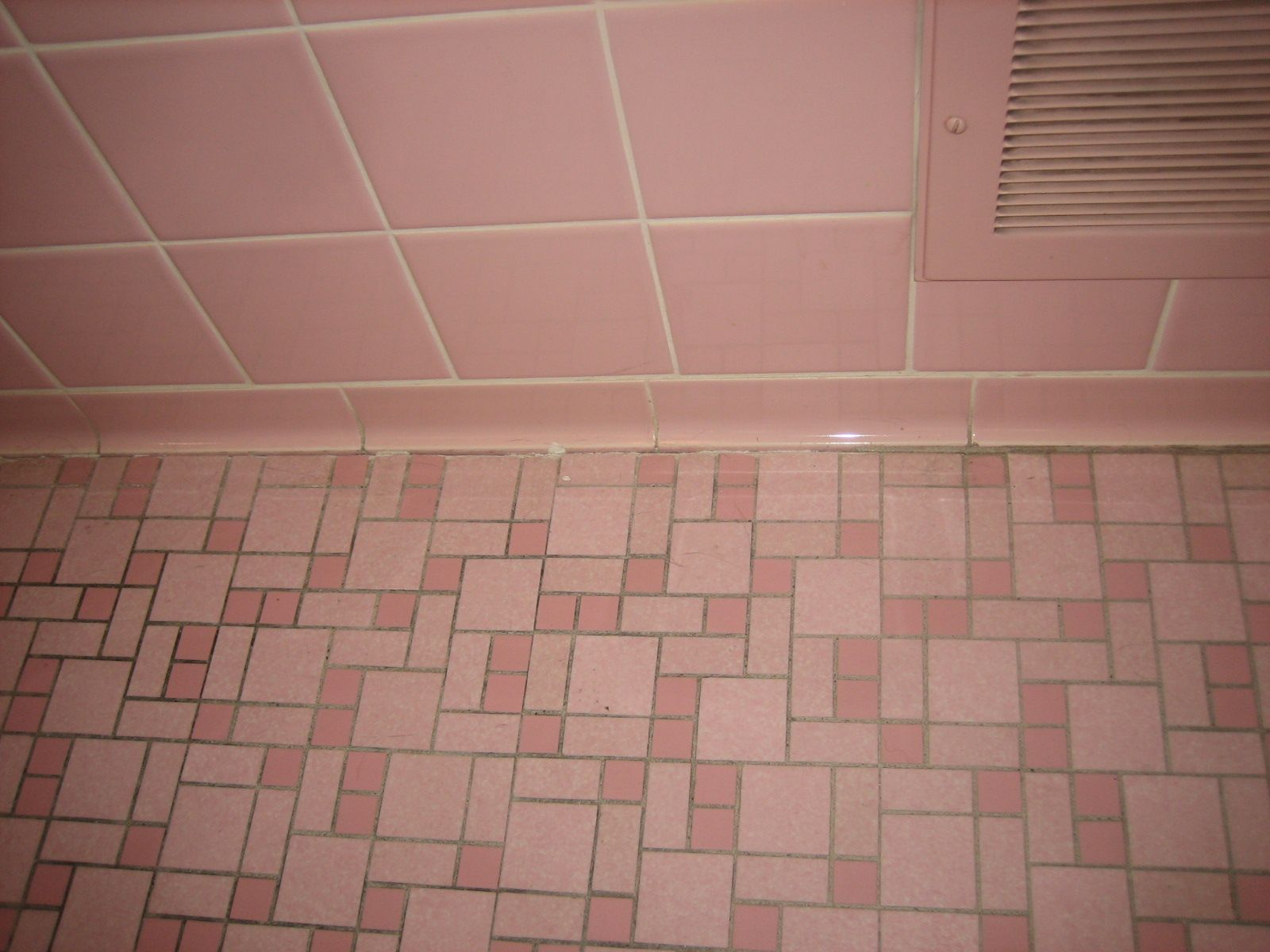 bathroom-tile-within-40-vintage-pink-bathroom-tile- ... | Bath ...