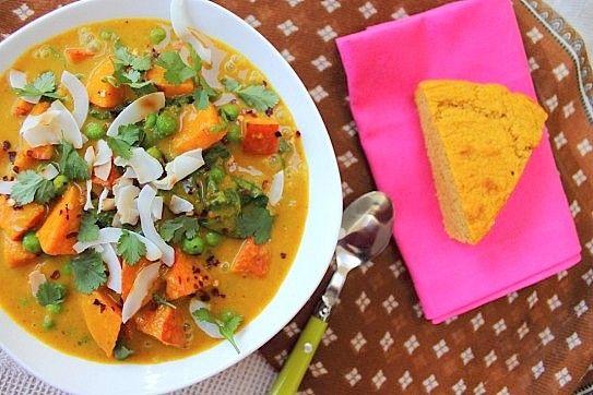 Pumpkin/Sweet Potato Curry Soup