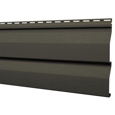 Mitten sentry 9 in x 144 9 in rockaway grey double 4 5 for Rona revetement exterieur