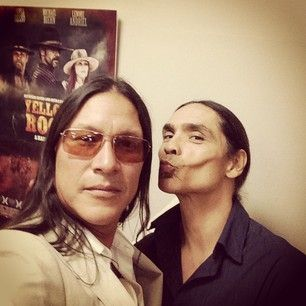 Zahn Really Loves Ya Rick With Images Native American Actors Native American Men Best Actor Made for the talented actor and artist that is eric schweig. pinterest