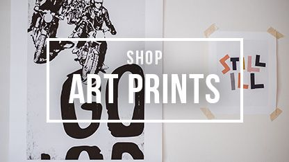 Shop millions of designs for popular art prints and decorate your walls with original art by thousands of artists from around the world. Worldwide shipping available at Society6.com.