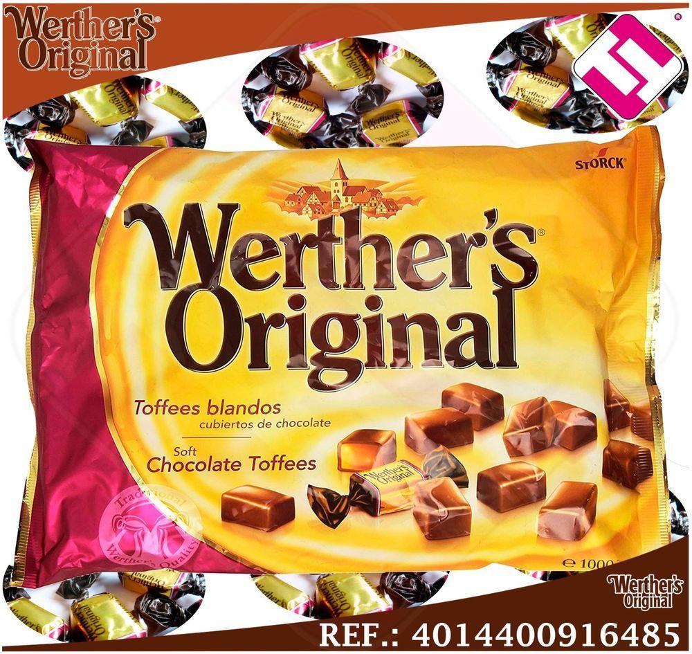 Caramelos Werther S Original Chocolate Blando Bolsa 1kg