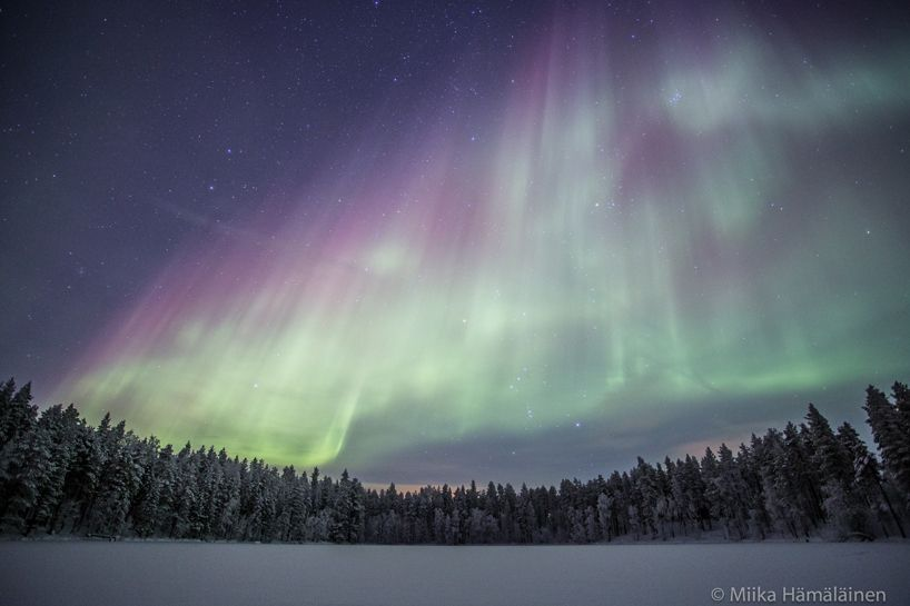 Sodankylä tapaninpäivänä. Kuva puhukoon puolestaan, sen kummempaa saatetekstiä ei tässä kaivata. * Joulu oli satumaisen kaunis, todistavat lukijoiden revontulikuvat #Aurora #Borealis