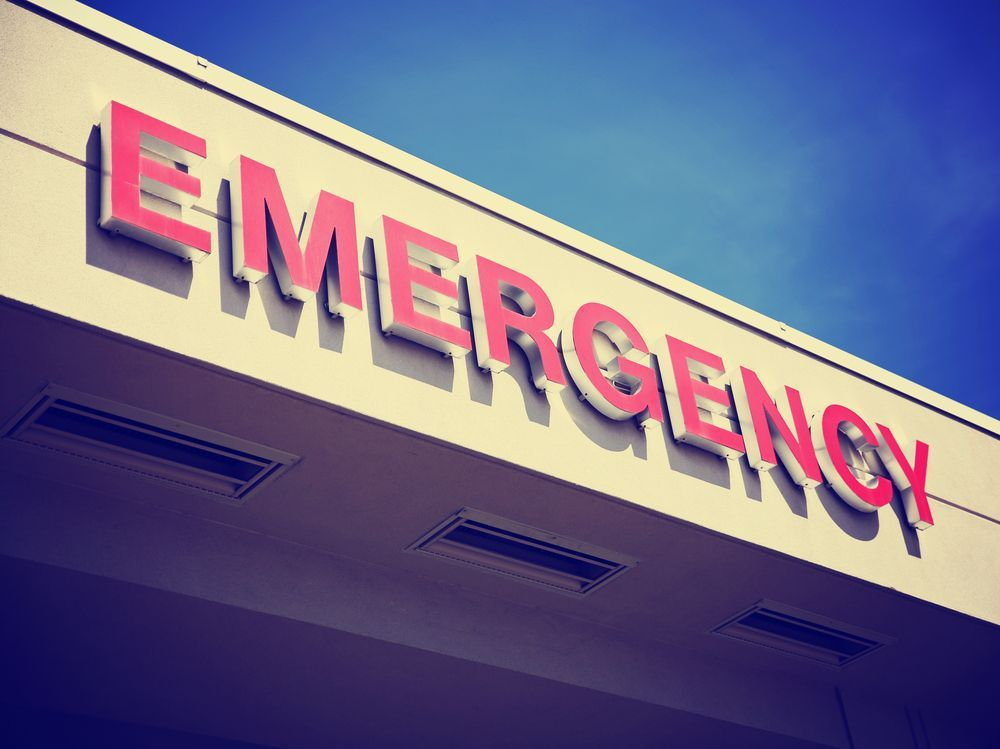 A nurse was attacked in the emergency department. This is