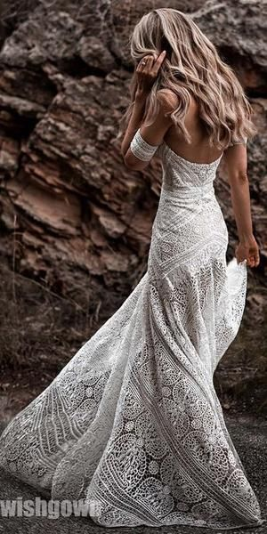 Photo of Mermaid Lace Sweetheart Elegant Bridal Long Wedding Dresses, STZ310