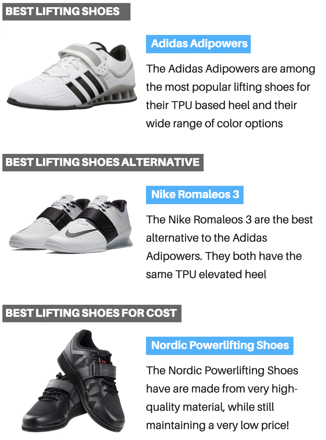 3 Best and Worst Lifting Shoes and Why They Matter | Muscle