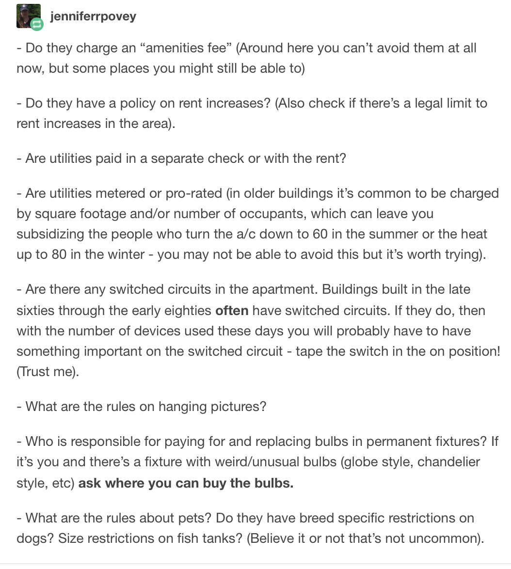Questions To Ask When Touring An Apartment Useful Life Hacks