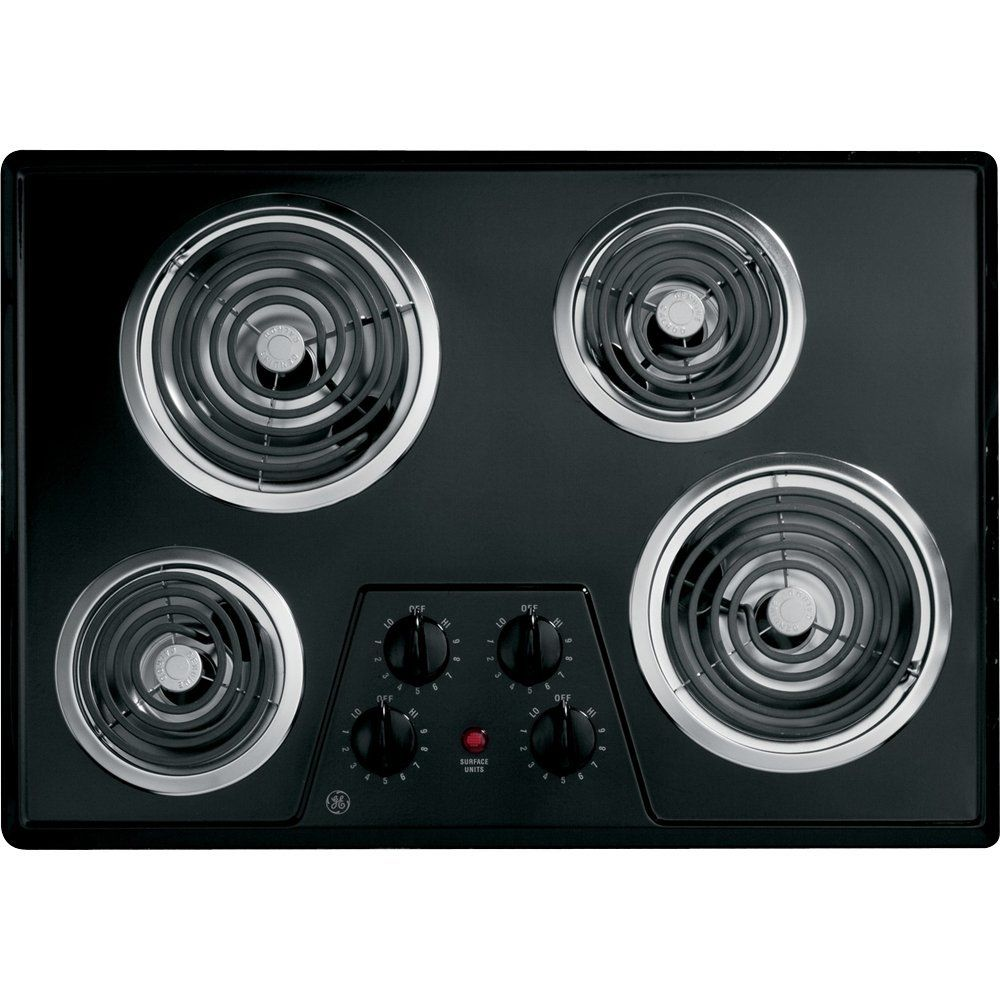 30 Coil Electric Cooktop With Four Heating Elements Upfront Controls This Is An Amazon Affiliate Link Be Sure To Electric Cooktop Cooktop Heating Element