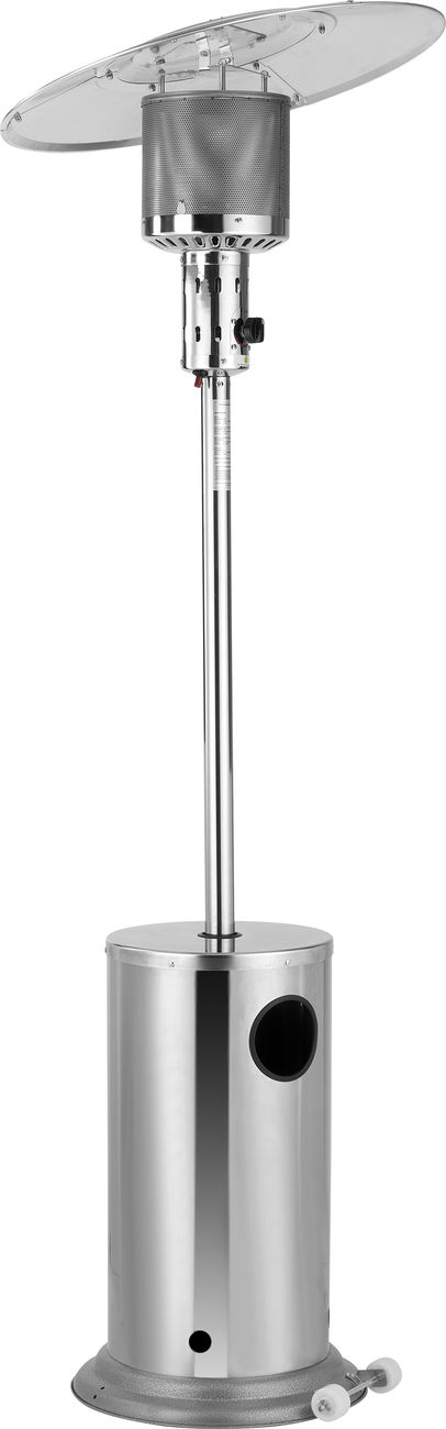 Ein Klassiker Neu Interpretiert Der Edelstahl Heizpilz Mit Schwenkreflektor Von Activa Dank Des Verstellbaren Aluminium Reflekt Feuerkorb Schwenken Aluminium