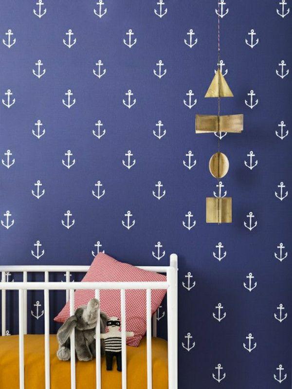Tapete Maritim schöne maritime motive für die kindertapeten kinderzimmer