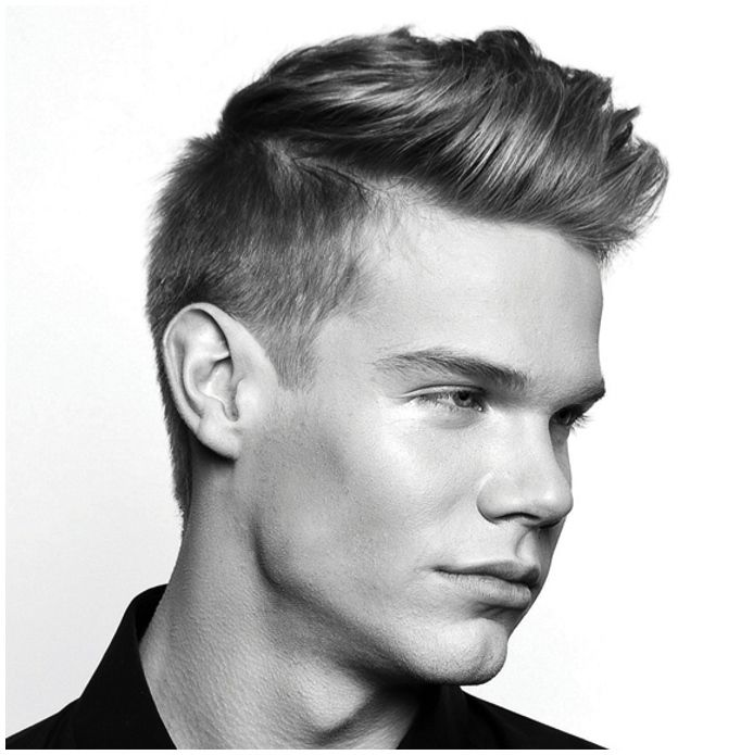 Hairstyles For Long Thin Face Male : Modern mens hairstyles for thin