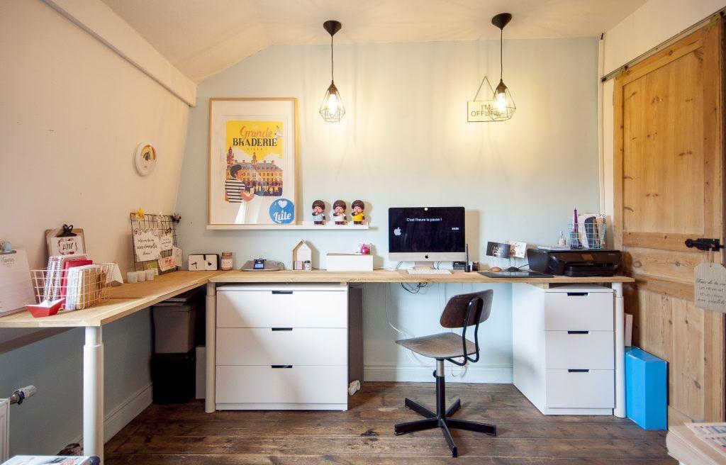 Planche pour bureau home tour mon bureau lille mat chair idea