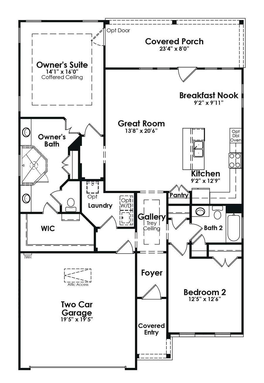 Cresswind Peachtree City Beechwood New Home Near Atlanta By Kolter Homes Peachtree City Beechwood New Homes
