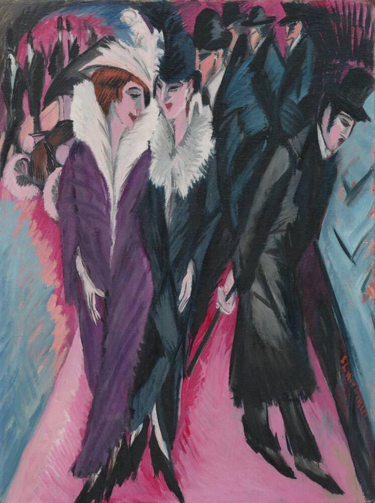 Ernst Ludwig Kirchner, Die Straße, 1913