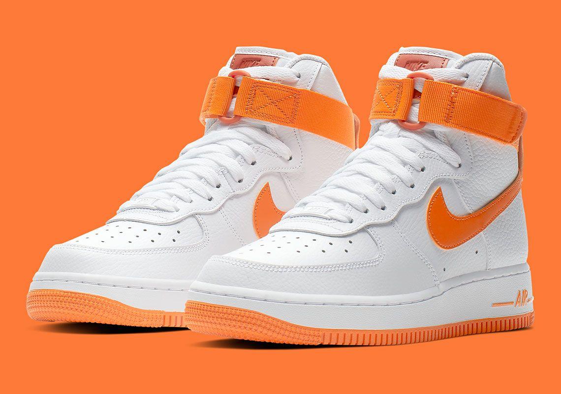 Nike Air Force 1 High Orange | Nike air