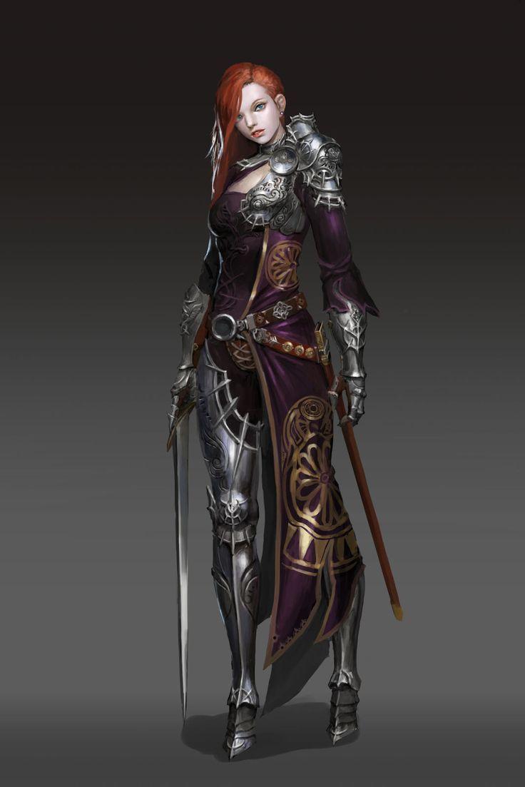 Fantasy Concept Art Characters