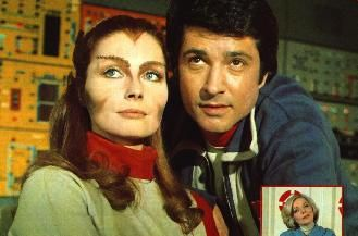 space 1999 - tony & maya! thought it was so neat how she could change into different things!