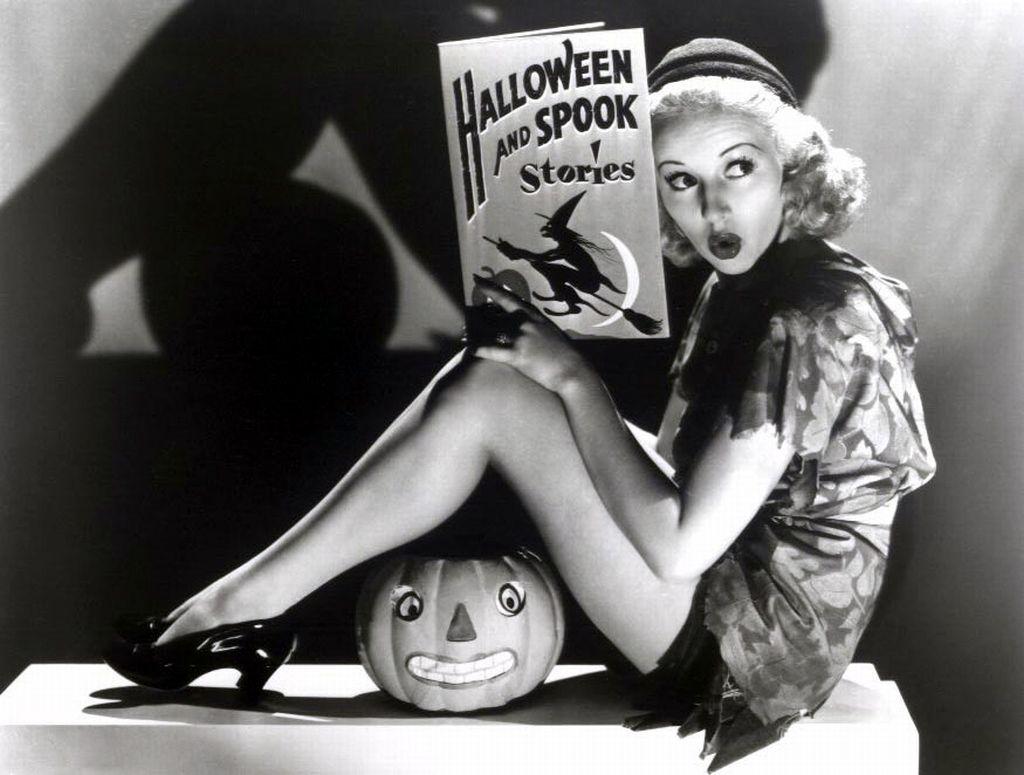 Halloween ~ Betty Grable
