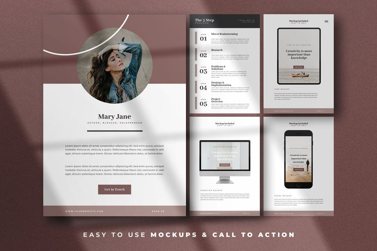 Canva Abstract Ebook Templates In 2020 Ebook Template Templates Brand Guidelines