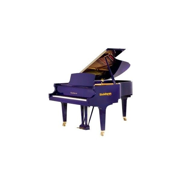 Baldwin Custom House Traditional Pianos Gone Wild ❤ liked on Polyvore featuring piano