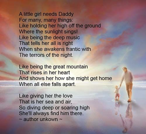 Fathers Day Poems From Daughter 2014