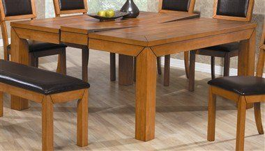 Chapman Dining Table In Caramel By Lifestyle California