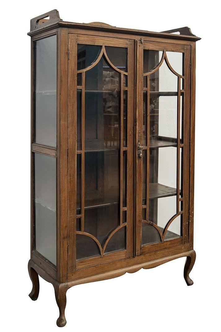 Original mueble expositor con vitrina, antiguo. | muebles ...