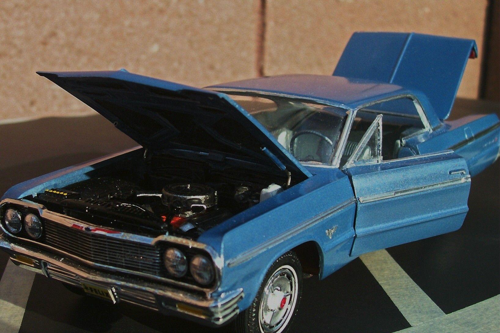 1964 chevy impala 1 25 scale model car