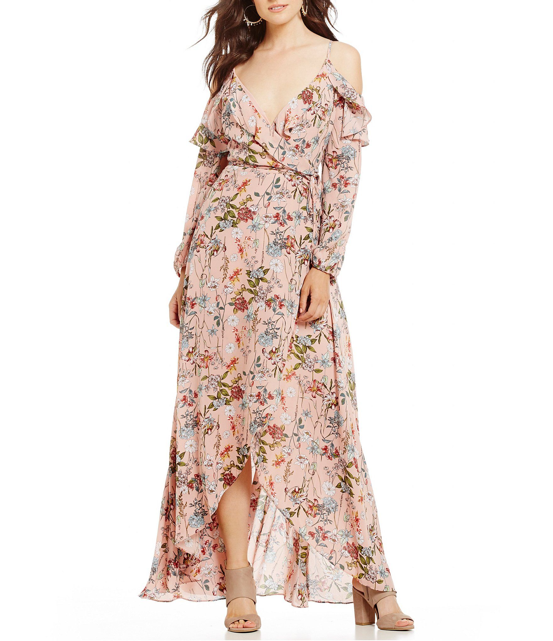 662a26c1cd8 Shop for GB Floral Wrap Maxi Dress at Dillards.com. Visit Dillards.com to  find clothing