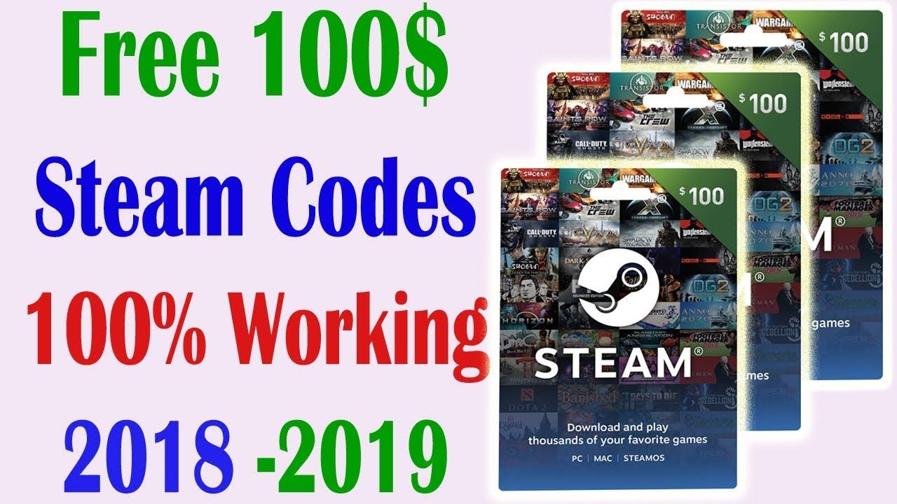 how to get free steam games - free steam codes - free steam keys or