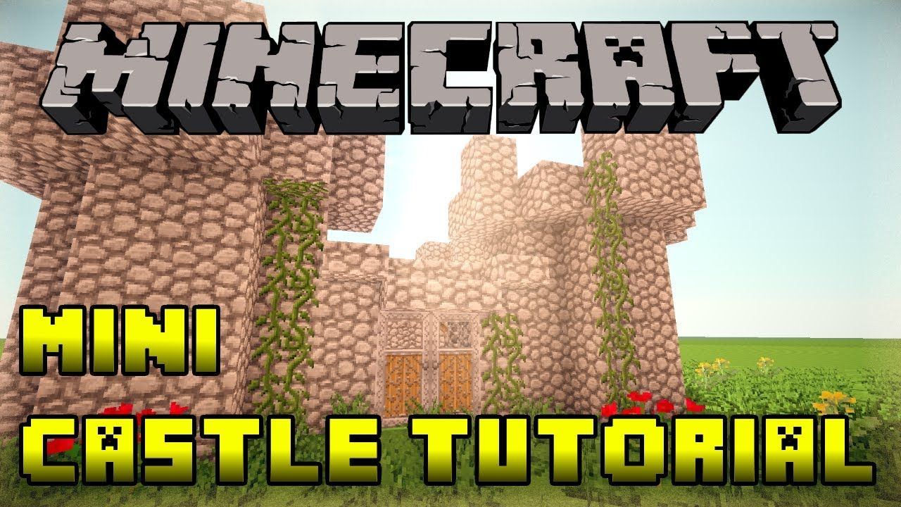 Minecraft How To Build A Mini Small Castle Tutorial Xbox Ps3