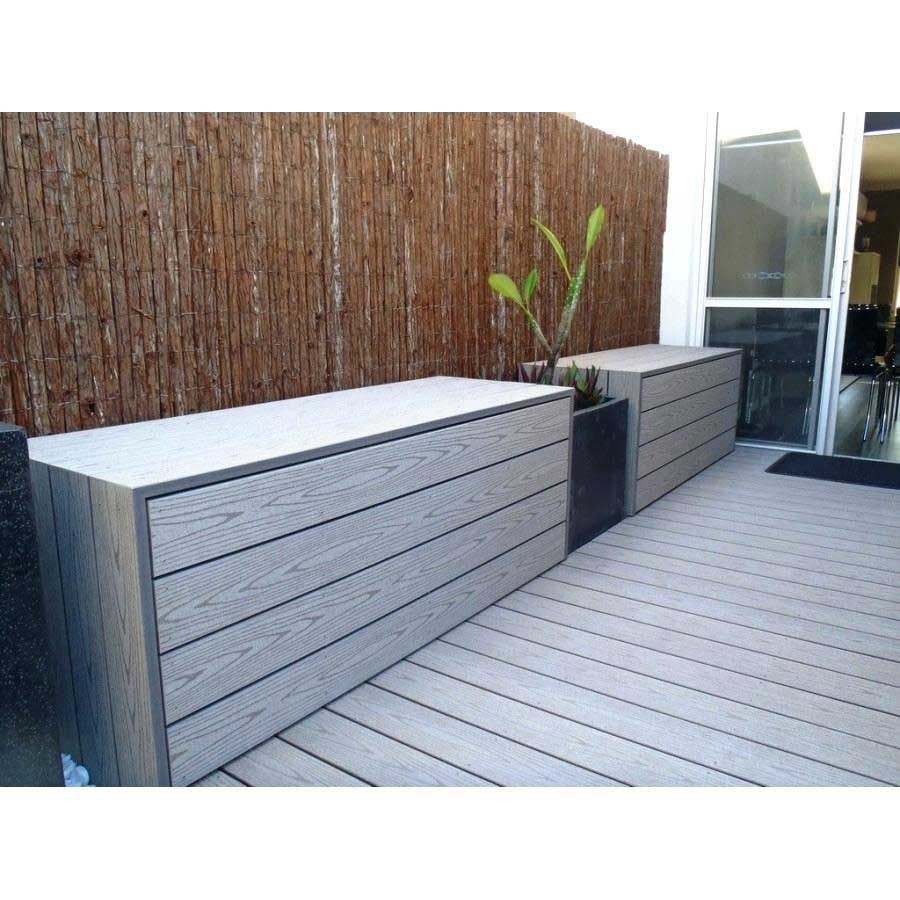 Lame De Terrasse Composite Timbertech Lames Pleine Ou Alveolaire Point P Brico Depot Garden Storage Bench Patio Storage Outdoor Cupboard