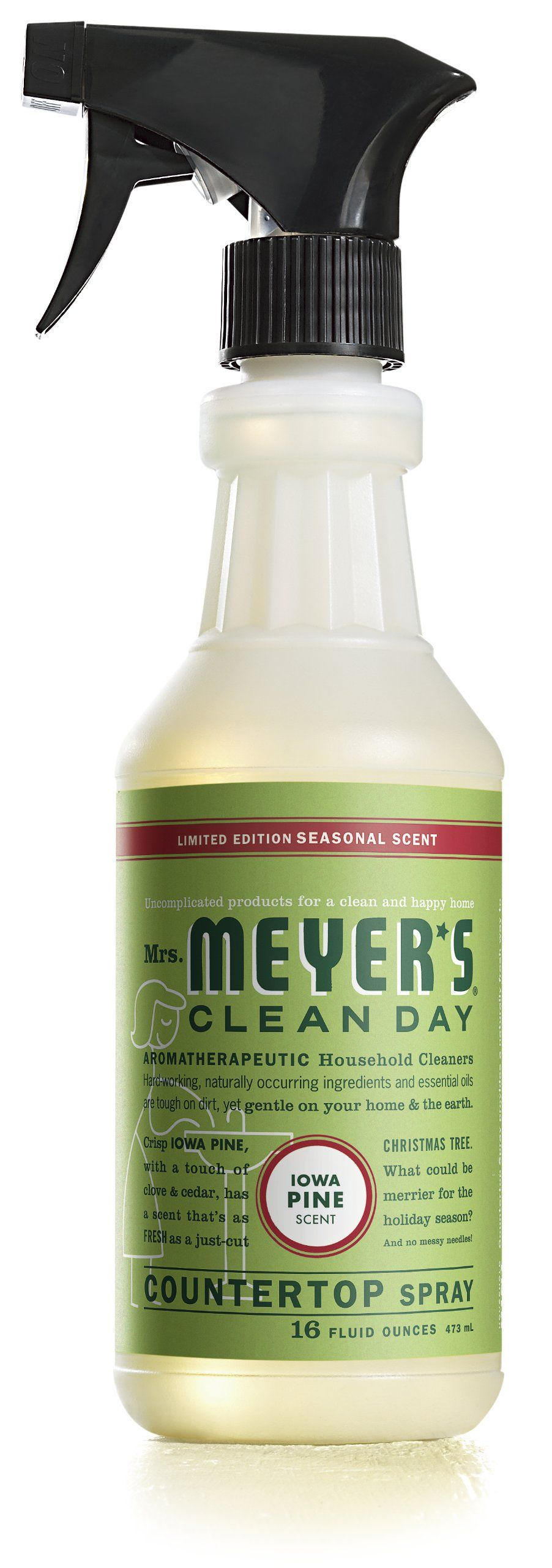 Mrs Meyer S Clean Day Countertop Spray Iowa Pine 16 Fluid Ounce