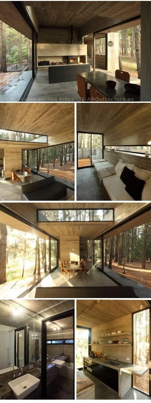 Casa hormigon visto fotos interior moderna casas de for Casa moderna hormigon