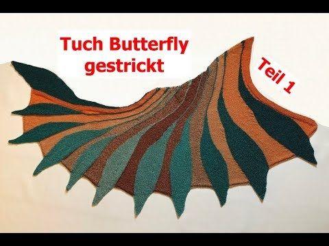 Photo of Stricken – Tuch Butterfly – verkannte Reihen mit Veronika Hug Teil 1