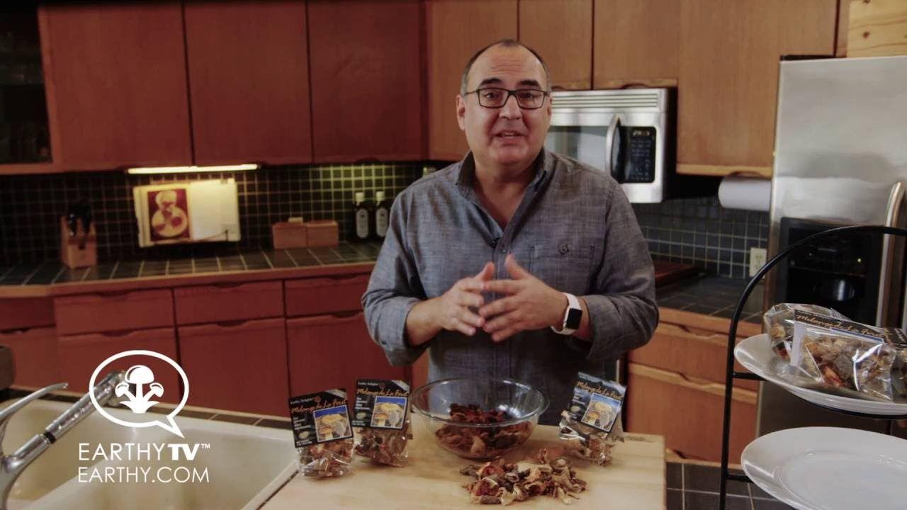 How to Reconstitute Dried Wild Mushrooms
