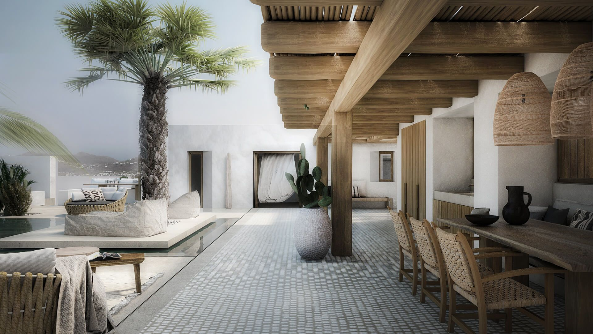 Meubles Makri Belgique Interior Design Of A Family House In Mykonos Neutrals House