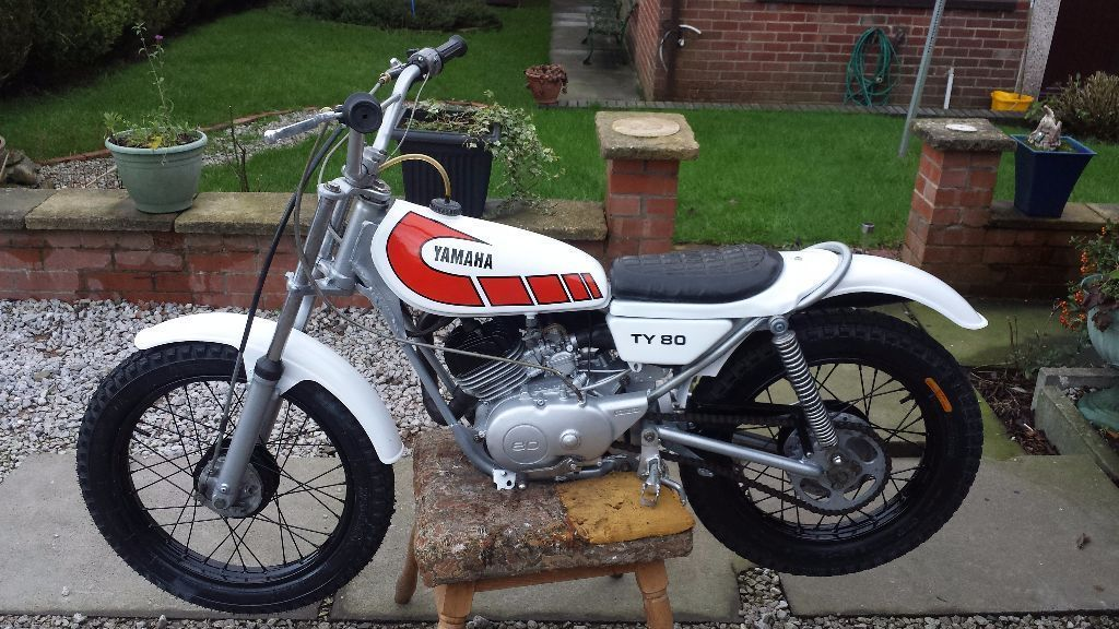 Superb Example Yamaha Ty 80 Classic Twinshock Trials Bike Ideal
