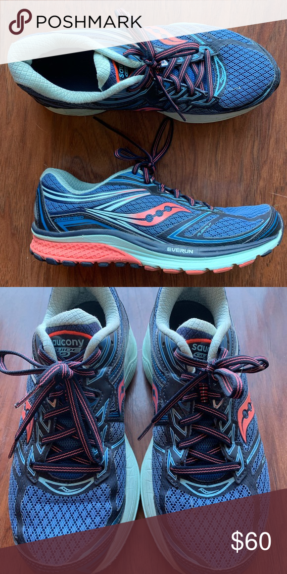 eb050d0d71 Saucony Guide 9 Running Athletic Shoes These are in great condition ...