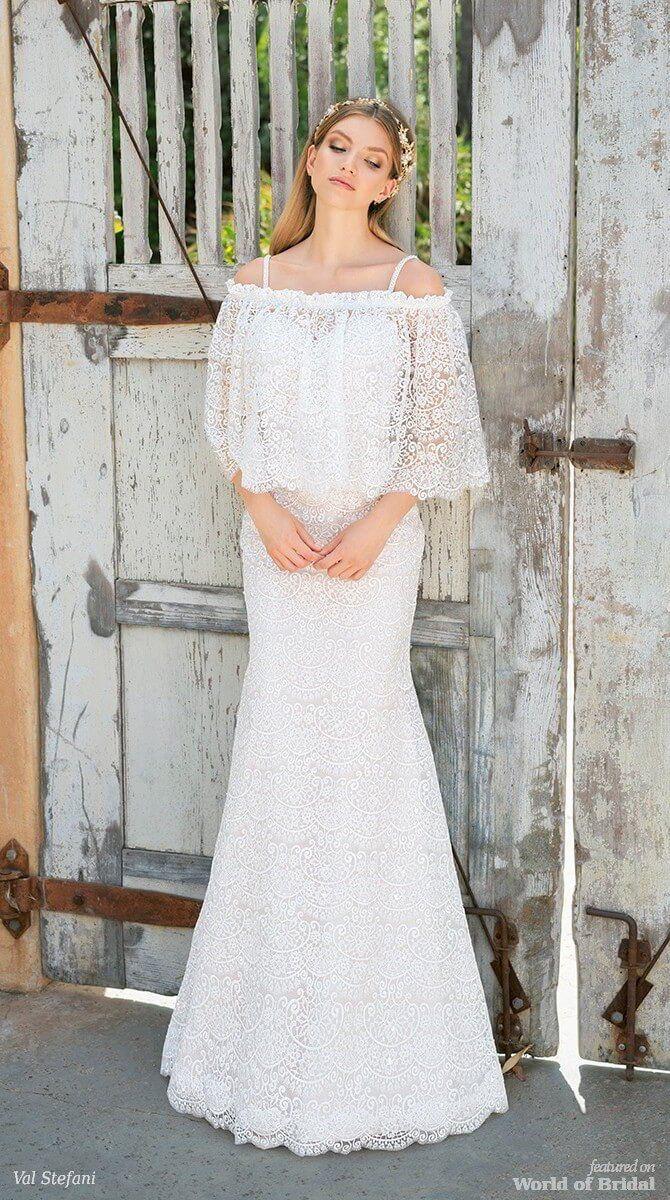 Val Stefani Spring 2018 Wedding Dresses | Meerjungfrau ...
