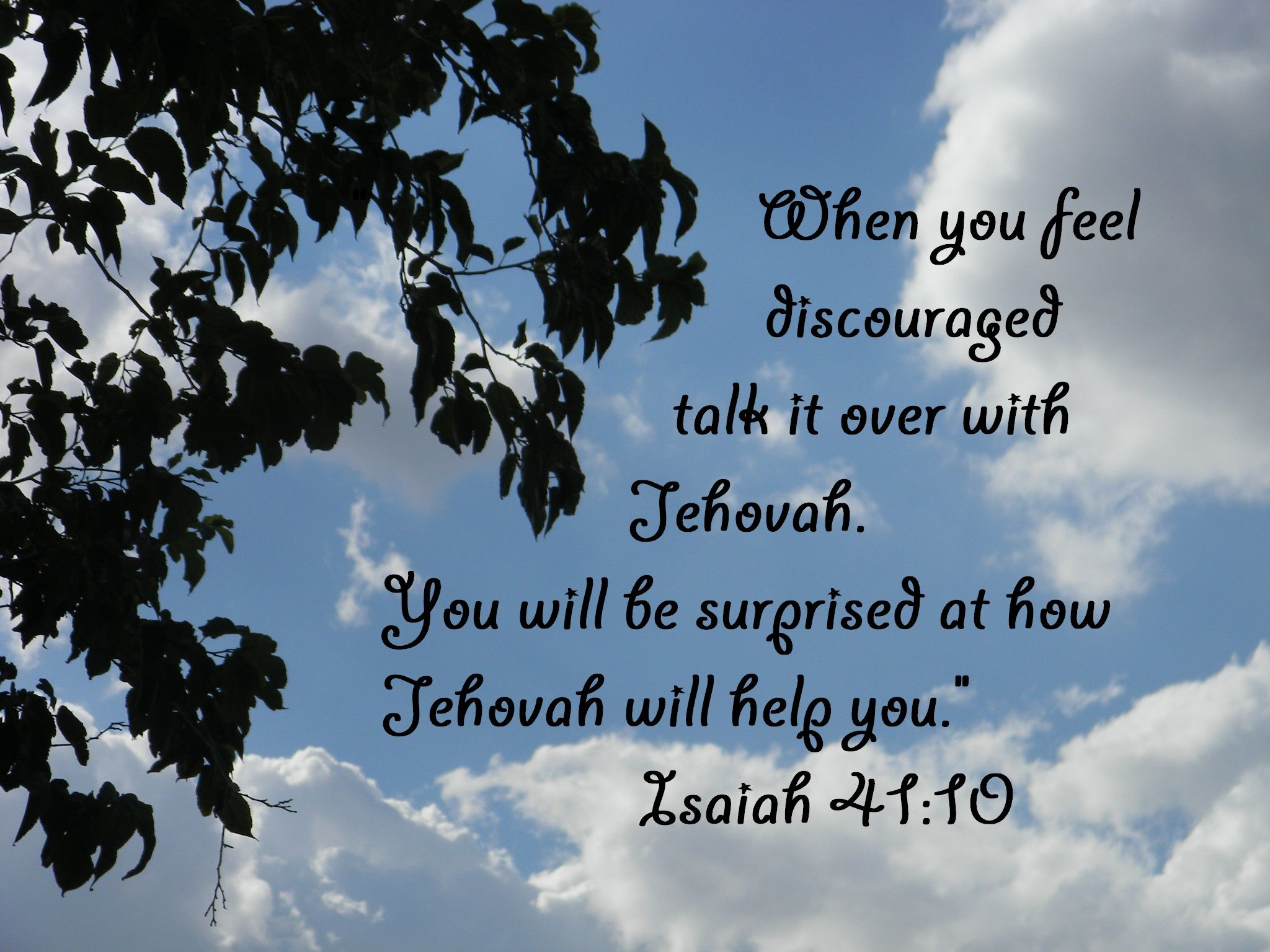 Jehovah is our helper