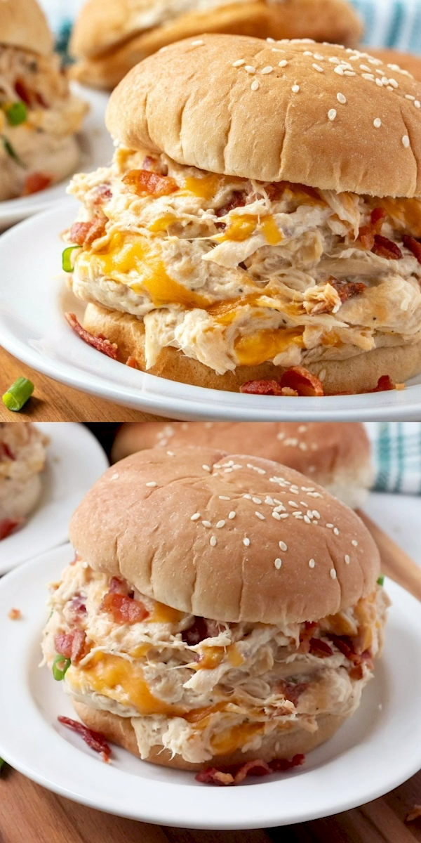 Creamy Crockpot Crack Chicken