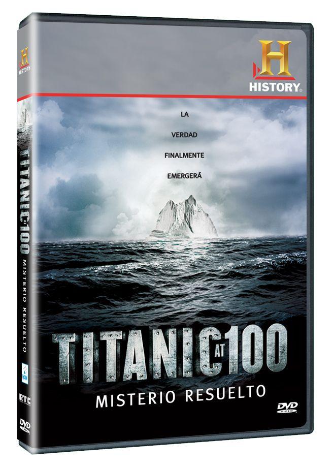 Diseño publicitario de DVD's - Stop Diseño Gráfico - Diseño de Titanic at 100: misterio resuelto - History Channel.