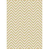 Found it at Wayfair - Metro Yellow Chevron Rug- $399 Possible for the Living Room