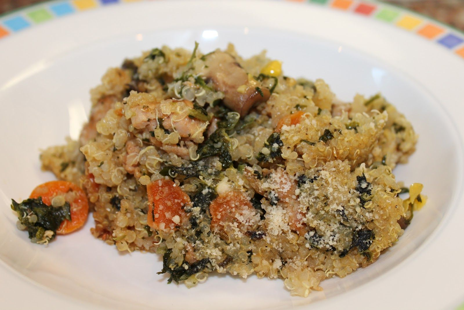 Mommy and baby food quinoa chicken sausage and vegetable casserole mommy and baby food quinoa chicken sausage and vegetable casserole for the whole family forumfinder Choice Image