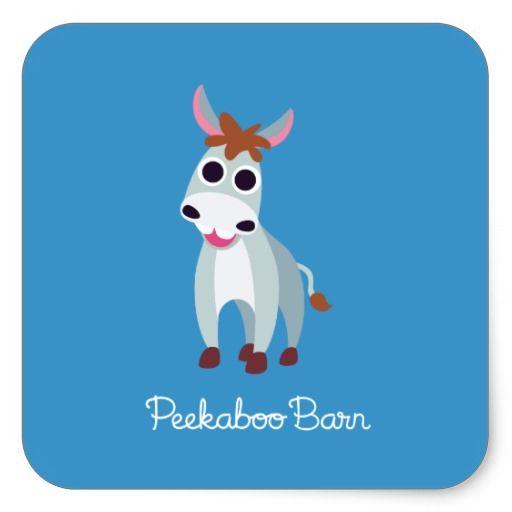 Shane the Donkey #sticker