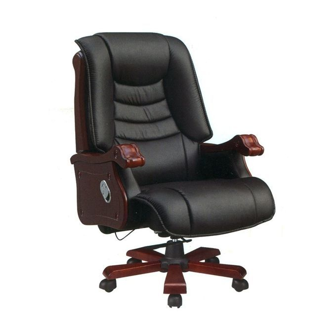 Buy Lunar Executive Office Chair With Recline Option Black