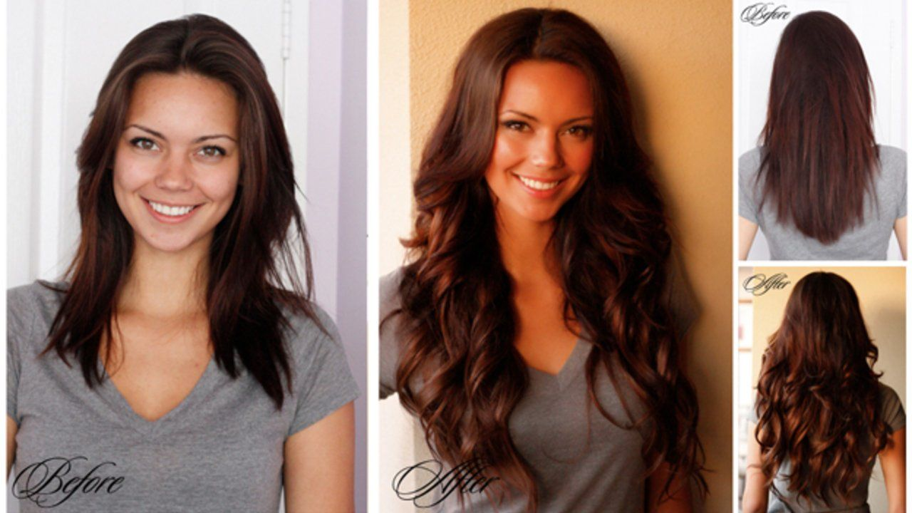 Luxy Hair Extensions Before And After Watch This Amazing Before