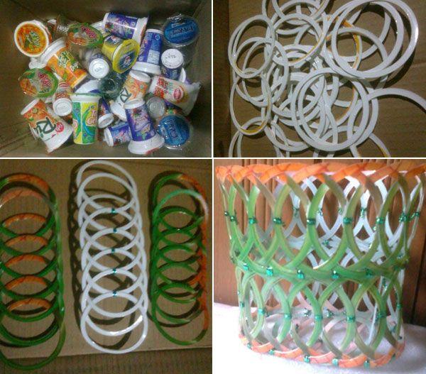 Kumpulan Kerajinan Dari Bahan Gelas Plastik Kerajinan Tangan